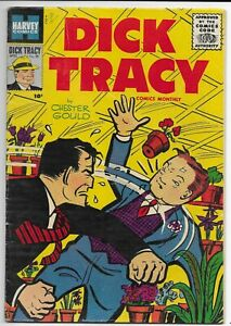 Dick Tracy Comics Monthly #98  Harvey 1956 Silver Age Crime Comic Book VG/Fine