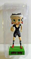 """Figurine Betty Boop Résine """"RUGBY"""" ALL BLACKS Ménage Haut 13 cm Neuf"""