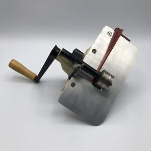 Rigby Cloth Stripping Machine Model B w/RB1 Cutter Tested, Works Fabric Cutting