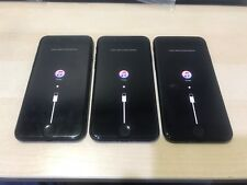 Lot of 3 Apple iPhone 7 32GB Black for Parts only (Not Working - Sold AS IS)