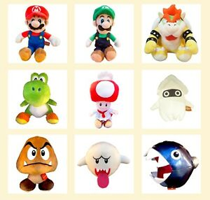 Universal Studios Japan Super Nintendo World Mario Plush Doll Yoshi Bowser USJ