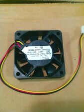 NMB 2406KL-05W-B59 Fan 24V 0.13A 60*60*15  3pin