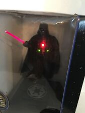 1996 Star Wars Electronic Darth Vader Original Voice Talking Bank, saber moves.