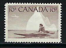 CANADA - SCOTT 351 - VFNH - ESKIMO HUNTER - 1955