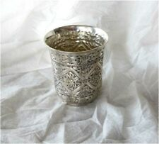 Antique German 800 Silver Beaker Goblet Hanau 18th Century style 184 grams