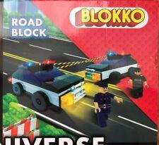 Blokko Road Block Vehicle Figure 126 Piece Set Compatible With Major Brands New