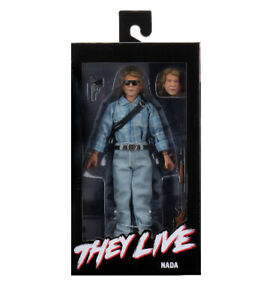 """NECA They Live 8"""" Clothed Action Figure – John Nada Brand New"""