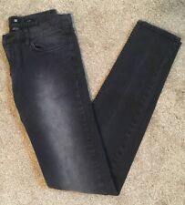 DC Shoes Denim Women's Distressed Black Skinny Jeans, Size 26