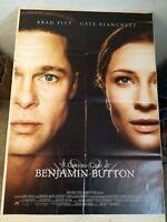 "THE CURIOUS CASE OF BENJAMIN BUTTON Original Movie Poster 39x55"" 2Sh PITT"
