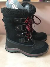Pajar Canada Womens Snow Boots Black Waterproof Boots EUR 38 US 7-7.5