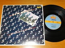 "PROMO 70s ROCK 10"" EP - NEW MUSIK - EPIC 36450 - ""STRAIGHT LINES"""