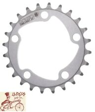 ORIGIN8 BLADE 74mm 5-BOLT 24T SILVER ALLOY BICYCLE CHAINRING