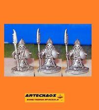 DARK CHAOS DWARF/ CULTISTS C/ 3 x 15MM METAL FIGS /S.L.M.