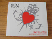 CD Double: Simple Minds : Live Northern Meeting Park 2011