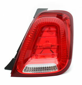 Rear Light Assembly Legally For Abarth 500 595 Fiat 500 52007422