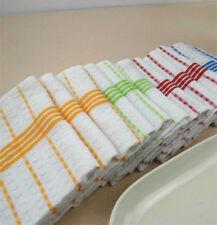 """12PCS Natural Machine Cotton Kitchen Towels Dish Towels Washable 12 x 12"""""""