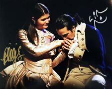 Lin Manuel Miranda & Phillipa Soo Signed Autographed 8x10 Color Photo HAMILTON
