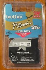 Brother P Touch M 231 Black On White Tape 12 In X 262 New Sealed Package
