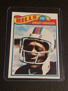 1977 Topps Football #82 Dwight Harrison (Bills).  VG/NM