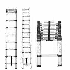 New Ladder Step Extension Telescoping Lightweight Portable Folding Telescopic Us