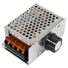 AC SCR Spannungsregler Speed Controller Leistungsregler Regulator NEU 4000W .^