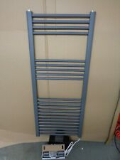 Towel Warmer Electric  Grey ( RAL 7412 )  New H X 1200  W X 500