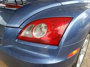 Taillight Passenger Rear OEM Chrysler Crossfire 04 05 06 07 08 PN 05098677AA