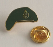 Royal Marines Commando Green Beret lapel pin badge