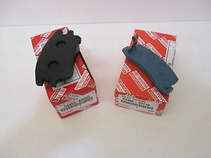 LEXUS OEM FACTORY FRONT AND REAR BRAKE PAD SET 2002-2003 RX300