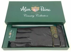 Alan Paine Mens Water Resistant Leather Shooting Gloves Country Hunting Shooting