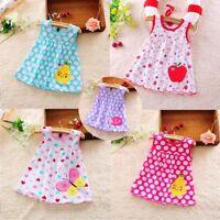 Infant Lace Mini A-Line Sleeveless Cotton Princess Dress Baby Girl Dress