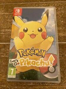 Pokemon Let's Go Pikachu! Game for Nintendo Switch