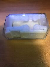 Original ROLEX Watch Clear Plastic Protective Travel Case Box Brand New
