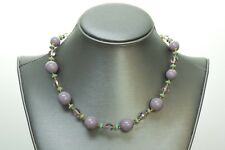 Miriam Haskell Purple Beads Necklace