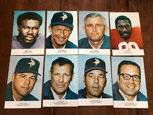 1970s Minnesota Vikings Team Issue Photos Lot of 37 5x7.5