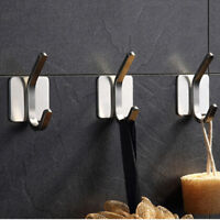 Stainless Steel Wall Mounted Clothes Hanger Rack Towel Coat Robe Hook BL3