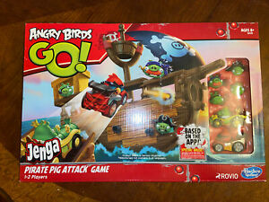 Angry Birds Go! Jenga Pirate Pig Attack Game 2013 NEW