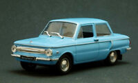 ZAZ-966 Zaporozhets Blue USSR 1966 Year 1/43 Scale Collectible Diecast Model Car
