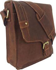 UNICORN Real Leather iPad, Kindle, Tablets & Accessories Messenger Bag Tan #5M