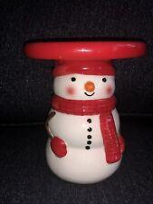 New ListingSnowman Sonoma Jar candle holder