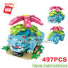 Enlighten Building Blocks Pokemon Series Venusaur Fits Logo Mega Construx Toys