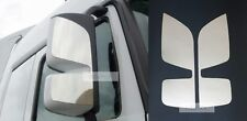 Set Stainless Steel Mirror Covers for Mercedes Actros MP3 Chrome Finish x2 L&R