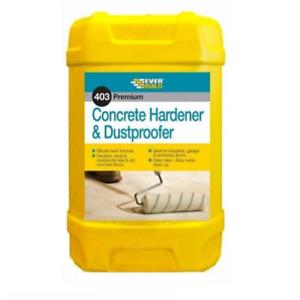 Everbuild 403 Concrete Hardener & Dustproofer Concrete Floor Sealer 25 Litre