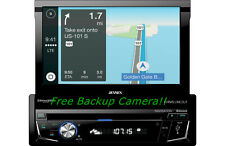 Jensen VX7014 Single DIN Bluetooth In-Dash DVD/CD/AM/FM/Digital Media Car Stereo