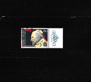 Papst Johannes Paul II-Fürstentum Liechtenstein--gestempelt -1983--TOP-