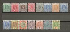 ST LUCIA 1921-30 SG 91/105 MNH Cat £140