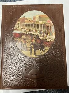 """1975 Time Life Books The Old West - THE TOWNSMEN"""" LARGE PADDED HARDBACK VGC"""