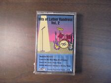 """NEW SEALED """"Hits Of Luther Vandross"""" Vol. 2   Cassette Tape  (G)"""