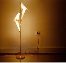 Bedside Nordic Lamp Head Bedroom Bird LED Living Floor Origami Room Light 2