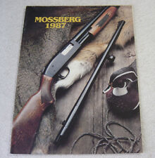 MOSSBERG FIREARMS 1987 GUN CATALOG